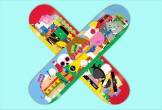 Enjoi Skatboard Decks