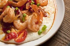 Spicy Shrimp and White Cheddar Grits Recipe