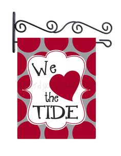 Custom Personalized Yard Sign We Love the Tide on Etsy, $25.00
