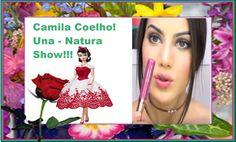 Maquiagem atemporal! (Pele e Olhos)Uma maquiagem feita com produtos da NATURA  da linha UNA.Camila Coelho é a garota propaganda dessa linha e fez uma linda resenha e como sou consultora da NATURA, não poderia deixar de expôr pra vocês esse lindo vídeo