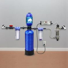 Aquasana Whole House Well Water Filtration System-RT-200-WELL - The Home Depot