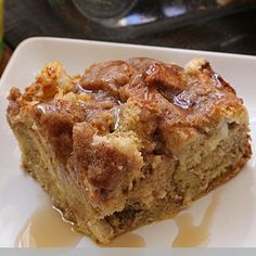 Overnight French Toast Casserole ~ Make it the night ahead and just pop it in the oven and have a wonderful breakfast!