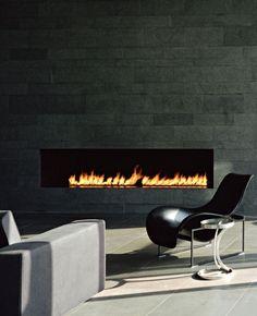 Fireplace - Schein Loft by Archi-Tectonics