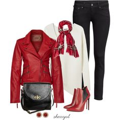 """Leather Jacket Contest"" by sherryvl on Polyvore"