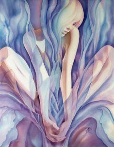 Series | Art, batik, silk painting. Official website by Olena Korolyuk