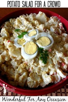 Wonderful for any occasion or holiday event and delicious old-fashioned recipe. #recipes #salad #holiday #sidedish #potatoes #potatosalad #oldfashioned #july4th #4thofjuly