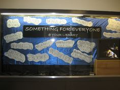 The Fault in Our Stars themed library resources hall display.