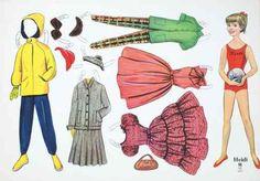 ausschneidepuppen ddr   Ankleidepuppen / Ausschneidepuppen / Papierpuppen / Paper Dolls aus ...