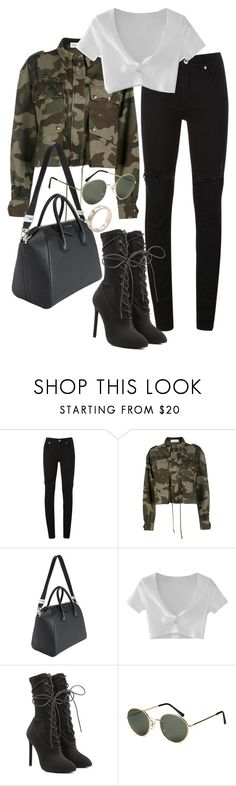 """""""Untitled #22076"""" by florencia95 ❤ liked on Polyvore featuring McQ by Alexander McQueen, Faith Connexion, Givenchy, WithChic, Yeezy by Kanye West, H&M and Cartier"""