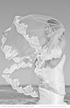Wedding Veil. love this pic