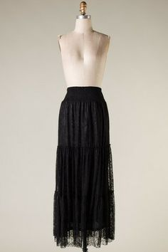 Amazing Grace Maxi Skirt - Black