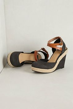 Salty Seas Wedges #anthropologie