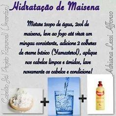 Hidratação de Maizena com Yamasterol