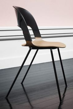 The mix-and-match components of the The Pair Chair by Benjamin Hubert come in a variety of colours is a mix, enabling over 8,000 possible unique combinations.