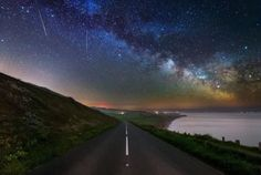 This is the rare opportunity to see the skies light up with meteors whizzing through the stars.