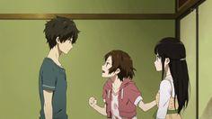 Chitanda, Oreki, Mayaka