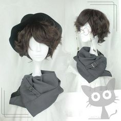 30cm Short Brown Lolita Wig