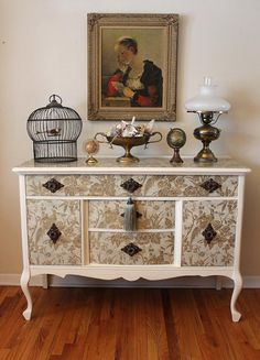FRENCH dresser/ buffet/ server by LaVantteHome on Etsy, $495.00