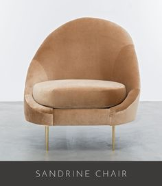 """36"""" Wide x 34"""" Overall Depth x 39"""" High Seat Depth 24"""" x Seat Height 19"""" As shown in European Velvet Carmel - (SPB 5) w/ polished brass legs Available in all Shine by S.H.O…"""