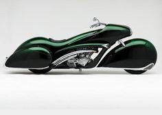 Art Deco Motorcycle. Vroommmm.