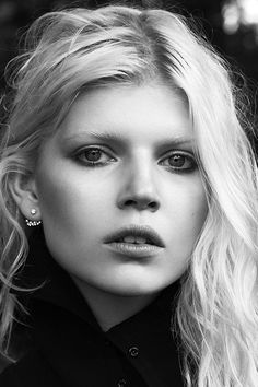 "EARRINGS | Ola Rudnicka in ""I've Been Thinking About You"" for Vamp Magazine #2, F/W 2014"