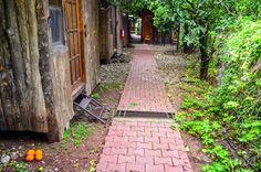 Escape to Olympos Cabins In The Woods, Sidewalk, Traveling, Viajes, Side Walkway, Walkway, Trips, Walkways, Travel