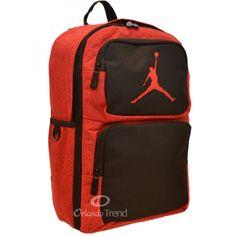 Nike Air Jordan 365 Deuce Red and Black Backpack for 14 inch Laptop at OrlandoTrend.com #OrlandoTrend #Nike