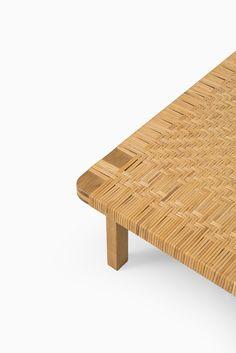 Børge Mogensen bench in oak and cane at Studio Schalling
