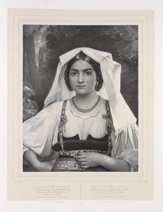 Neopolitanerin. From New York Public Library Digital Collections.