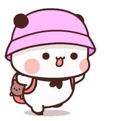 Cute Bunny Cartoon, Cute Cartoon Pictures, Cute Profile Pictures, Cute Anime Pics, Little Panda, Cute Little Baby, Cute Anime Wallpaper, Cute Cartoon Wallpapers, Sweet Memes