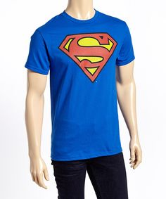 Look at this Superman Logo Tee - Men on #zulily today!