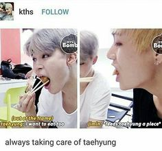 Awww these twoo! *cries* but look at Jimin i cannot hahaha