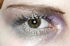 John Galliano Fall 2009 . Makeup by Pat McGrath.