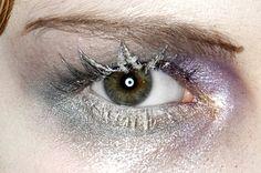 John Galliano Fall 2009 . Makeup by Pat McGrath.