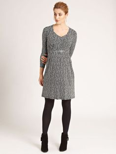 f101068be3f Spotted Nursing Tunic/Dress Nursing Tunic, Maternity Nursing Dress,  Maternity Boutique, Simple