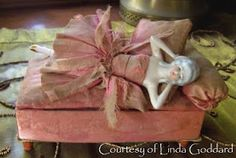 candy box half doll