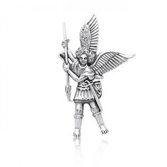 Purchase Guardian Angel Parton Of Military Police Security Saint Michael Pendant Necklace For Women For Men 925 Sterling Silver from Bling Jewelry Inc on OpenSky. Share and compare all Jewelry. Eyebrow Jewelry, St Michael Pendant, Angel Pendant, Archangel Michael, Sterling Silver Jewelry, 925 Silver, Silver Charms, Silver Ring, Bling Jewelry