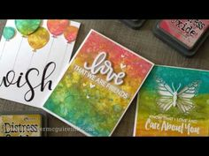 Jennifer McGuire's Introduction to Distress Oxide Inks and LOTS of Card Inspiration! - Simon Says Stamp Blog