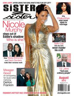 Nicole Murphy Magazine Cover The best place to find how to have joyful life! http://myhealthplan.net