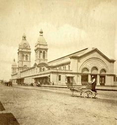 Union Station Toronto 1873-1927 --- picture taken in 1875