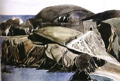 Charles Rennie Mackintosh's Trail in Roussillon, France Charles Rennie Mackintosh, House For An Art Lover, Aubrey Beardsley, Art Nouveau Tiles, Glasgow School Of Art, Botanical Drawings, Landscape Art, The Rock, Lovers Art