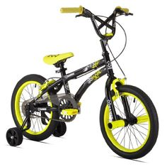 X Games 16 in. Freestyle Bike - Get your stunt biker started with the X Games 16 in. No need for a separate bike while he's first learning to ride — just. Mountain Bikes For Sale, Mountain Bicycle, Bmx Bicycle, Bmx Bikes, Cruiser Bikes, Kids Bike Sizes, 16 Inch Wheels, Sports Games For Kids, Bmx Freestyle