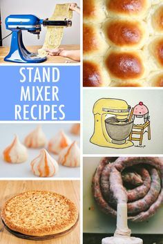 This collection of creative stand mixer recipes showcases both sweet & savory ways to get the most out of this invaluable machine. On Craftsy! Kitchen Aid Recipes, Kitchen Aid Mixer, Cooking Recipes, Cooking 101, Skillet Recipes, Cooking Gadgets, Cooking Tools, Kitchen Hacks, Kitchen Gadgets