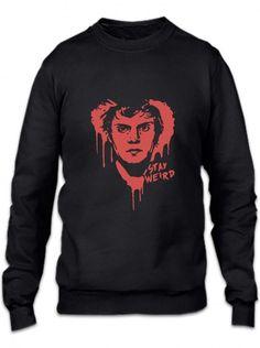stay weird funny Crewneck Sweatshirt