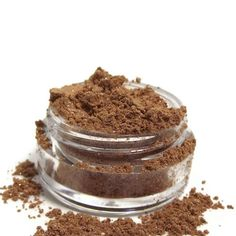 Mineral Eye Shadow Caramel shimmery mica by plumvalleynotions, $3.95