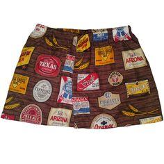 Disponível somente no tamanho anunciado. Esse link não é válido para encomendas.  Samba canção UNISEX estampas divertidas da hhbrasil. Tecido 100% algodão Edições limitadas.  Tamanhos P - veste 38 M - veste 40 G - veste 42  GG - veste 44 XGG - veste 46  Faz conjunto com saquinhos, tapa olhos, shorts doll, shorts boxe, camisetas (produtos vendidos separadamente, ou ofertados em promoção) procure os links em nossa loja. R$ 25,00