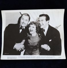 Brian Aherne Claudette Colbert and Ray Milland Vintage | Etsy
