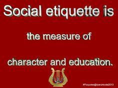 Social etiquette tips to increase the quality of the social engagement/ @FLORINEL NICOLAI DECIU #socialetiquette