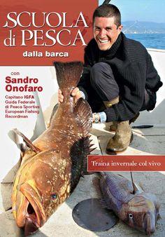 Scuola di Pesca dalla barca con Sandro Onofaro - Traina invernale col vivo.