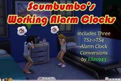 Mod The Sims - Working Alarm Clocks